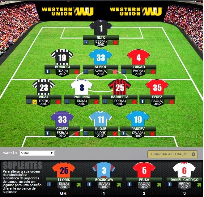 Ajax Vs Paok: Soares Kafe: UEFA Europa League 2013/2014