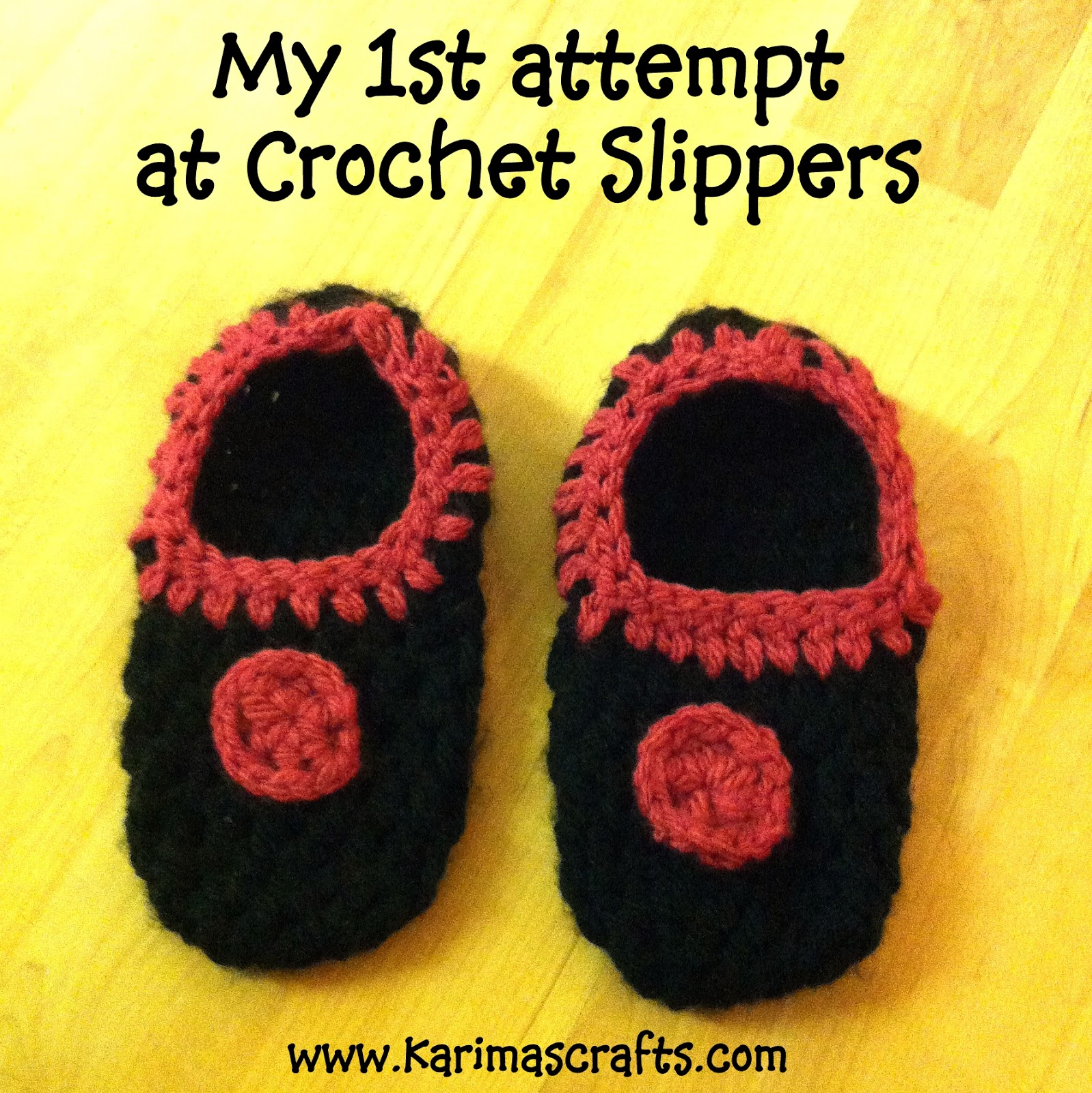 crochet slippers muslim blog