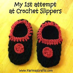 crochet slippers muslim blog