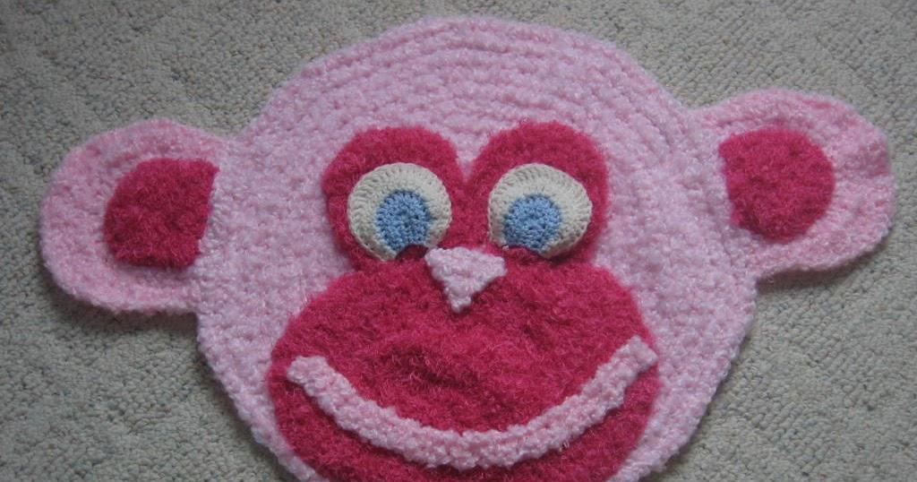 Donna s crochet designs blog of free patterns free monkey rug crochet