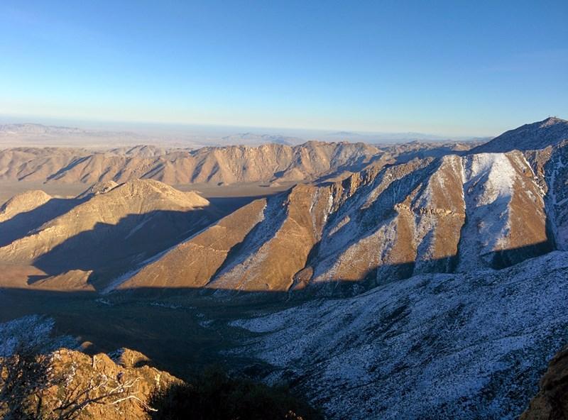 Garnet Peak, Mt.Laguna, San Diego