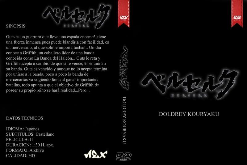 Capa DVD Berserk Doldrey Kouryaku