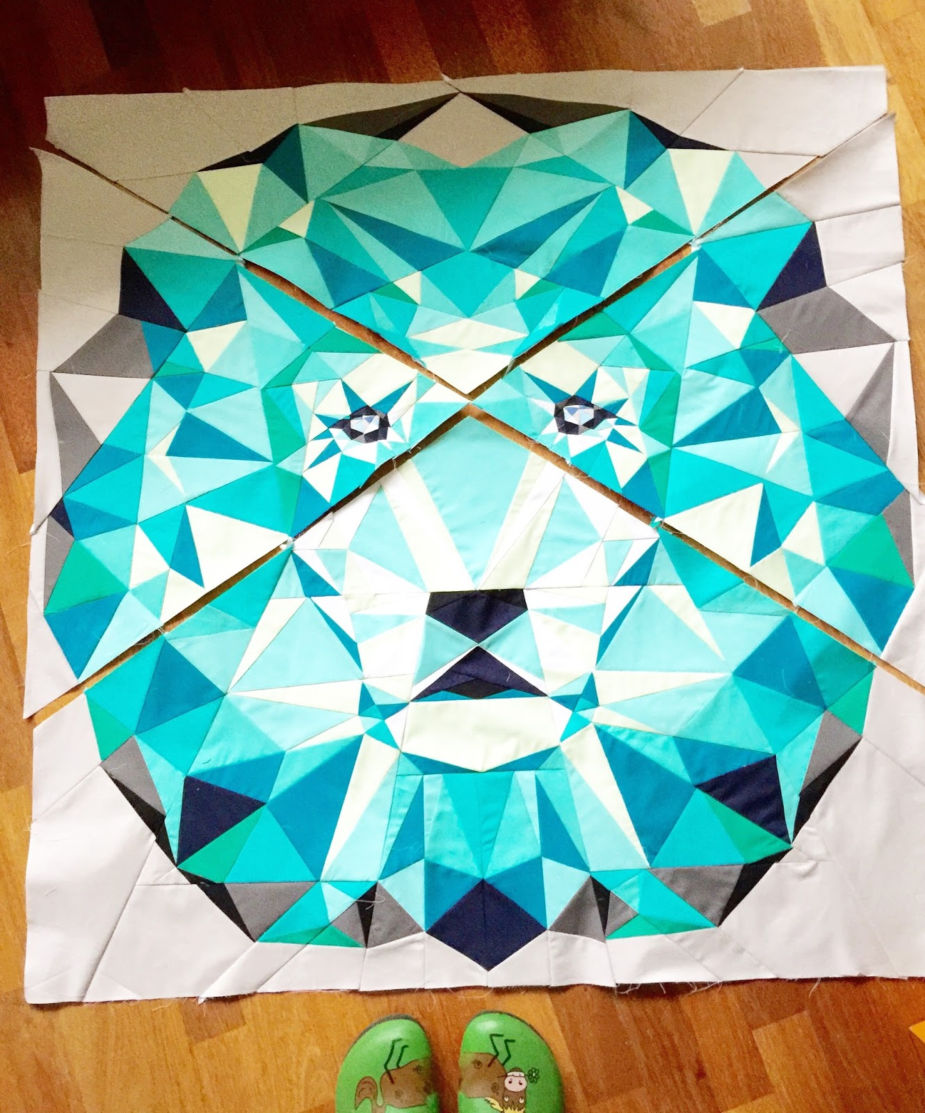 Jungle Abstractions nach dem Muster von Violetcraft
