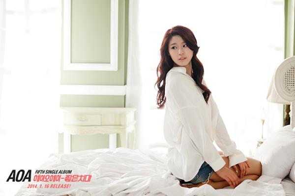 AOA Miniskirt Seolhyun teaser