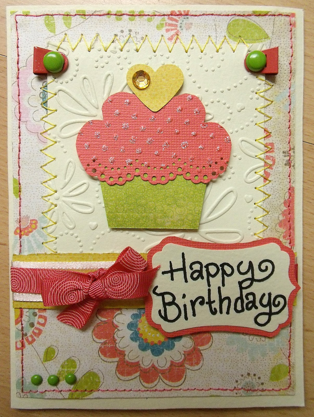... that today, creating a cute birthday card perfect for the occasion