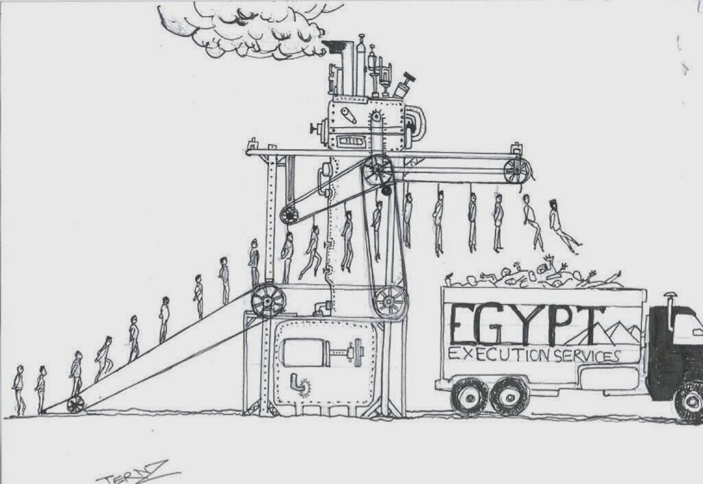كاريكاتير : قمة الإعدام العلمي