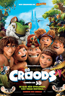 """Poster do filme """"Os Croods"""""""