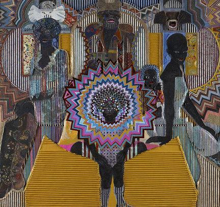 African American Folk Art Paintings