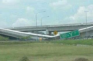 Punca Fly Over / Jambatan di Putrajaya Runtuh
