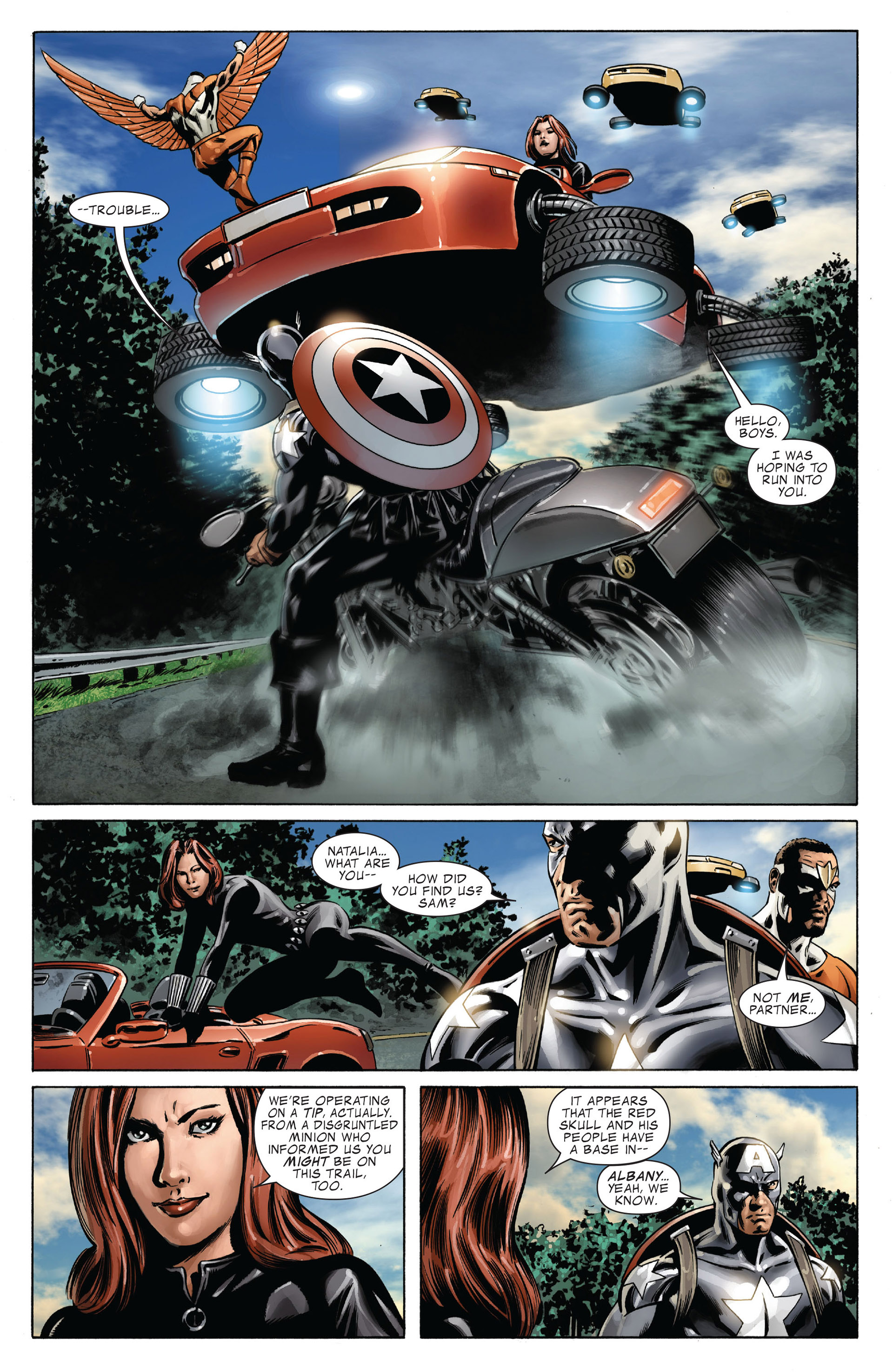 Captain America (2005) Issue #41 #41 - English 12