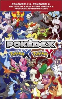 Pokedex Pokemon X and Pokemon Y BOOK REVIEW