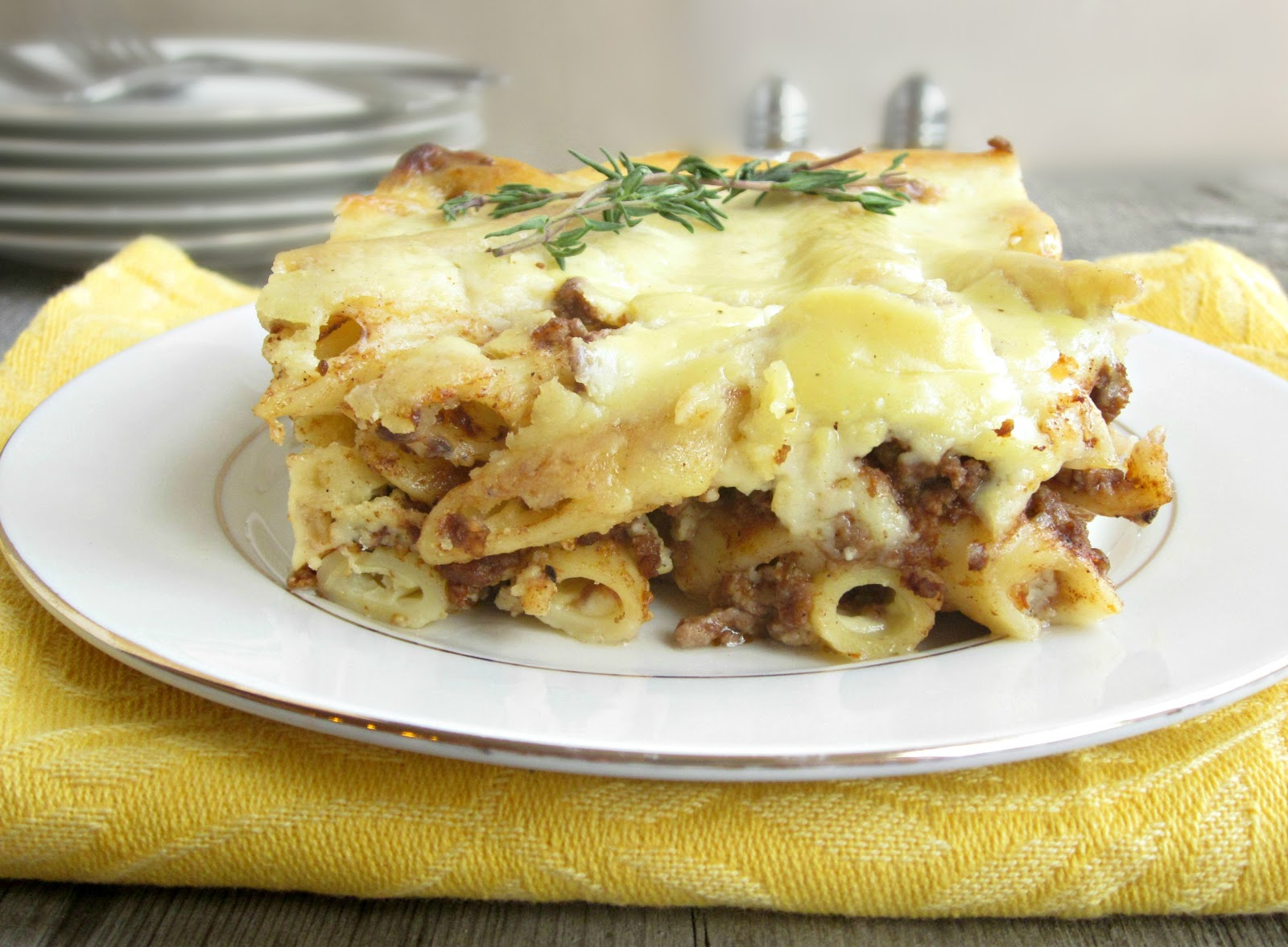 Hungry Couple: Pastitsio (Greek Lasagna)