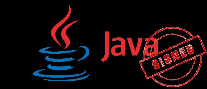 java code signing certificate