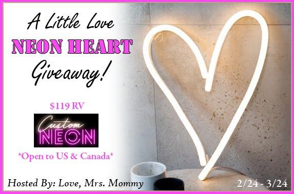 Neon Heart Giveaway