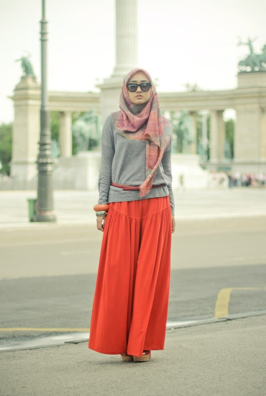 fashion hijab 2013