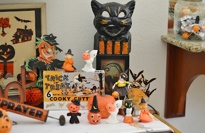 The Adventures Of Two Pyrex Crazy Thrifting Sisters Vintage Mostly Halloween Another Birthday Wish