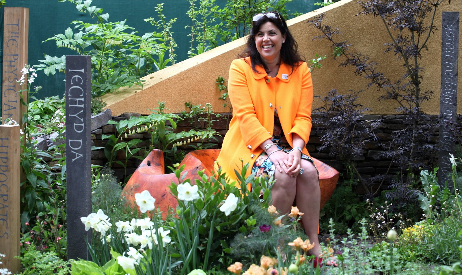 Discover carmarthenshire celebrating welsh success at the for Garden rooms kirstie allsopp