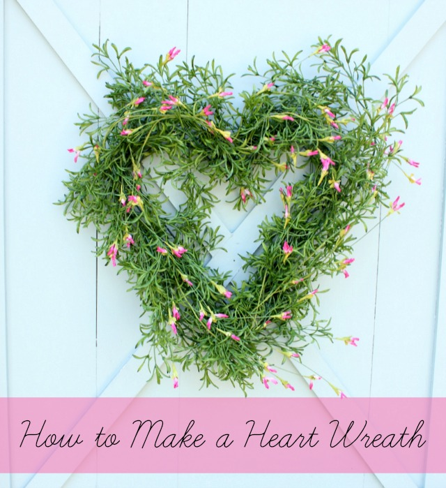 From My Front Porch To Yours Treasure Hunt Thursday- DaisyMaeBelle Heart Wreath