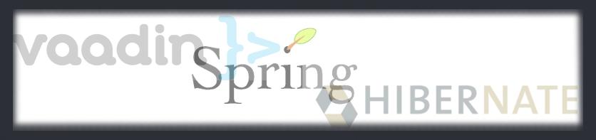 Vaadin Spring e Hibernate
