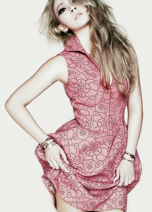 CL for ELLE Magazine
