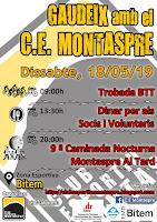 18 maig 2018 BTT + FESTA+MONTASPRE al TARD