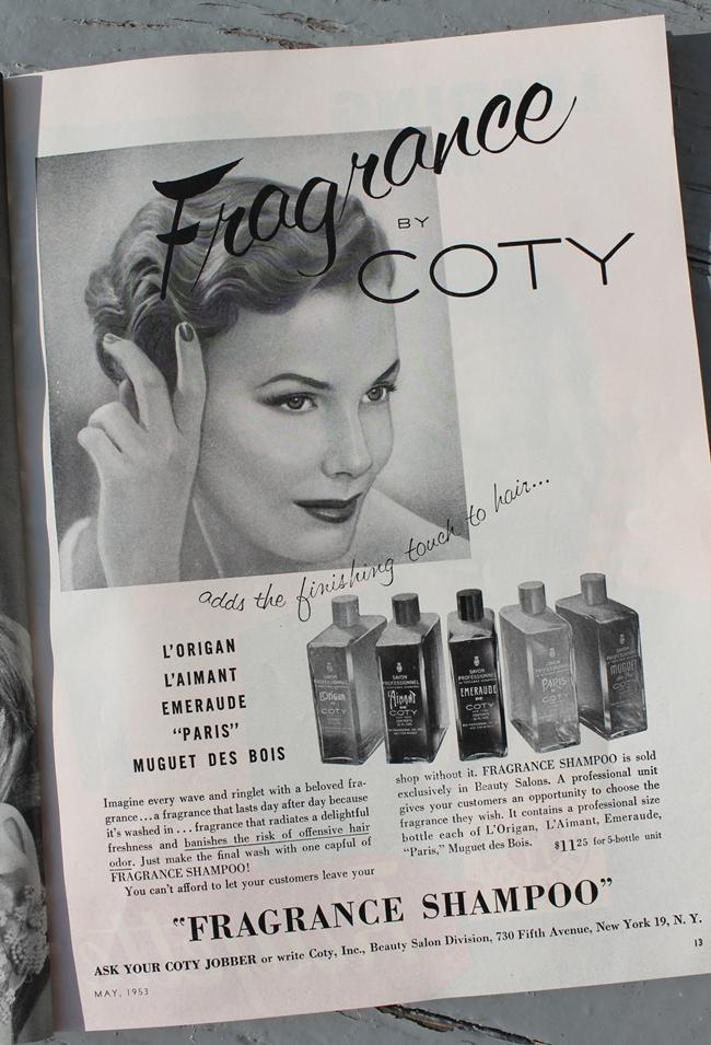1950s Coty ad