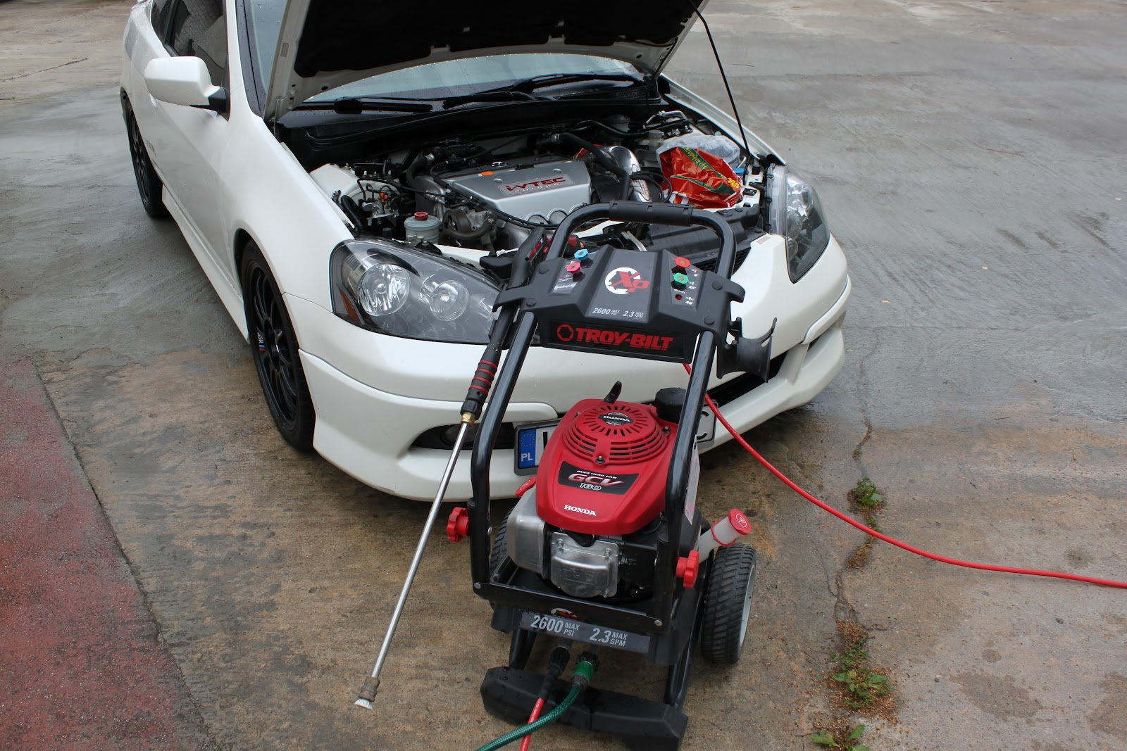 Acura Rsx Type  Honda Integra Dc5  How To Clean Engine