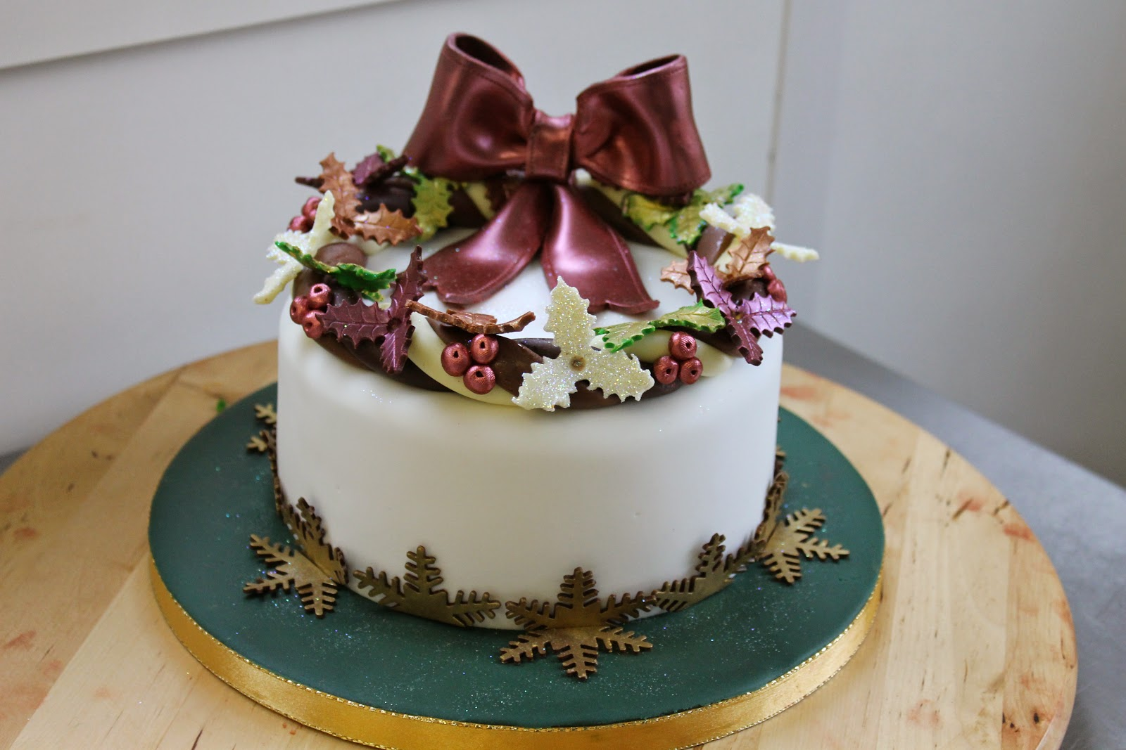 Chocolate Christmas Cake Decorating Ideas : Christmas cake decoration ideas beautiful creatife my blog