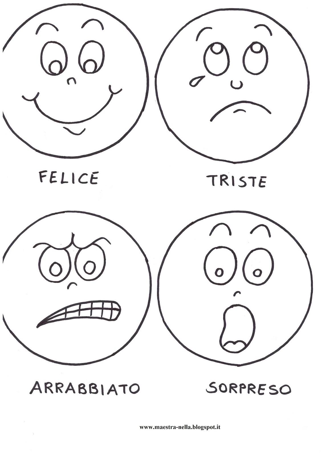 Favorito maestra Nella: La paletta delle emozioni CO65