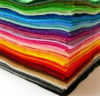 Lots of places to buy felt in the UK