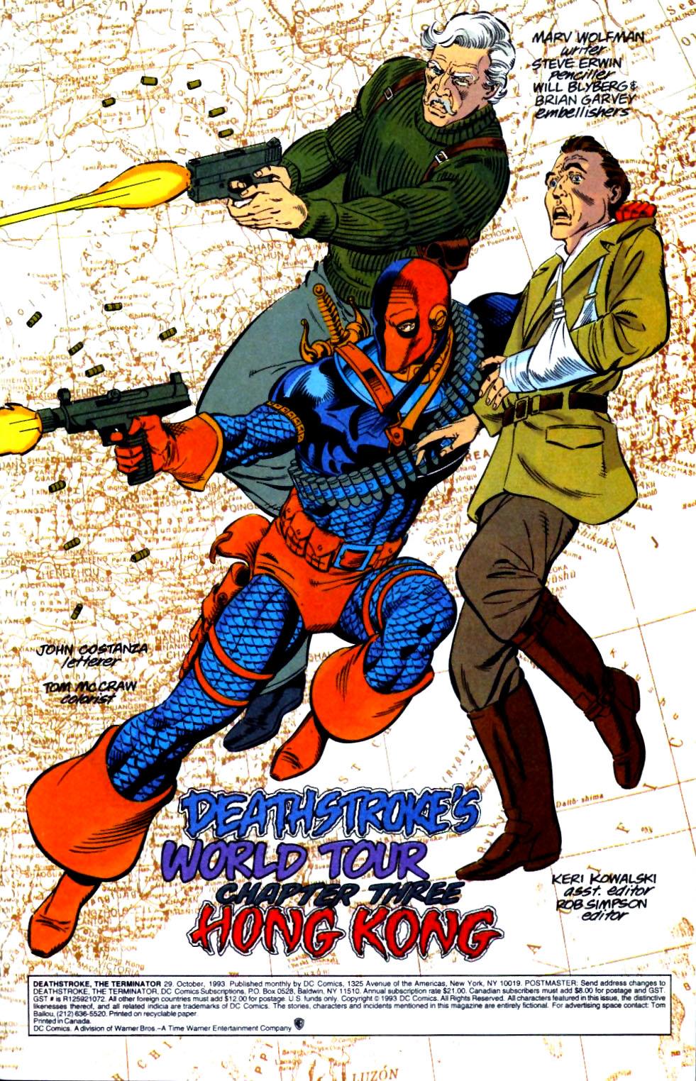 Deathstroke (1991) Issue #29 #34 - English 2