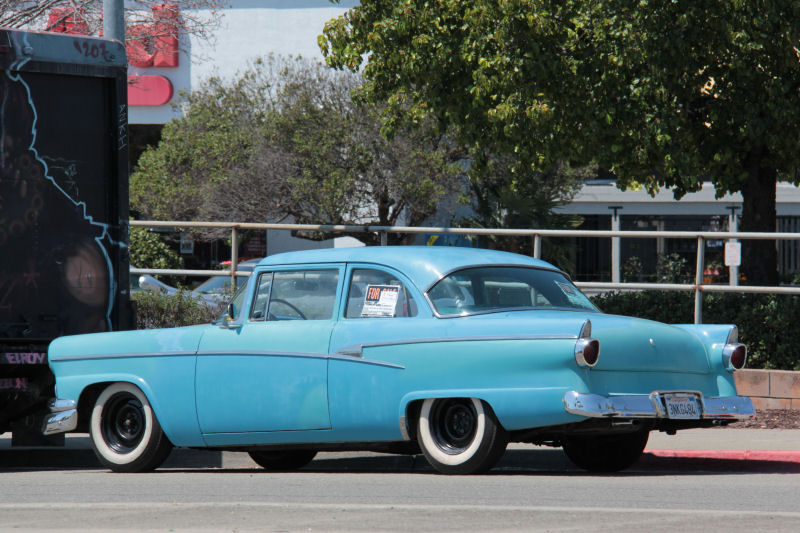 California streets castro valley street sighting 1956 for 1956 ford customline 2 door hardtop