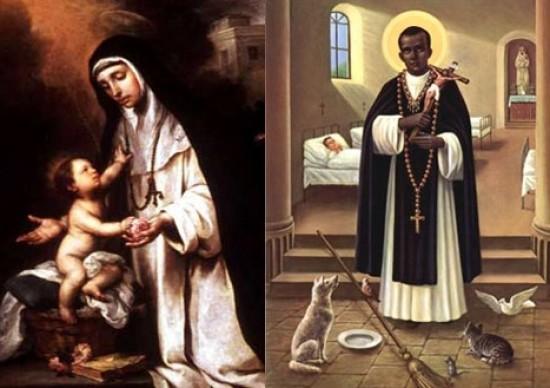 La Patrona del Lima y el Santo de la Escoba