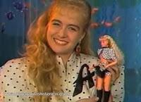 Boneca da Angélica lançada pela Estrela, 1991. Época em que a apresentadora fazia sucesso como apresentadora de programas infantis.