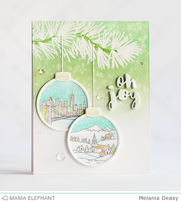 Mama Elephant Stamp Highlight : Twinkle Towns
