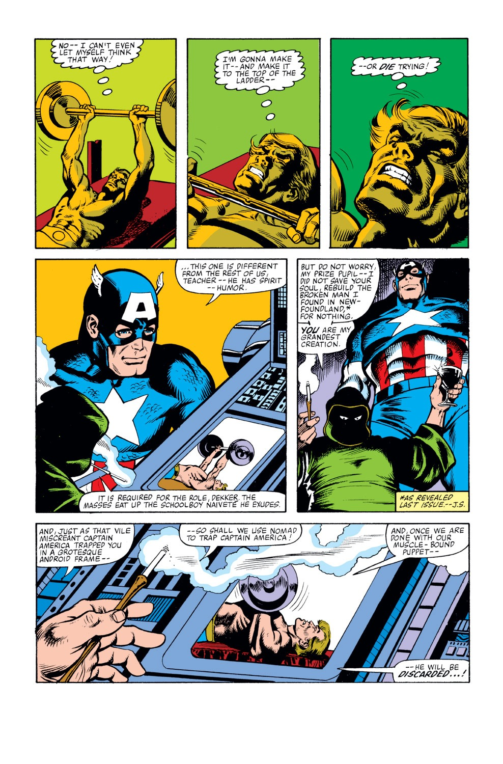 Captain America (1968) Issue #262 #177 - English 9