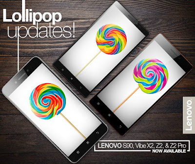 Lenovo Lollipop Updates