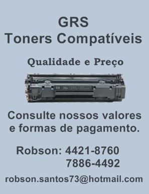 Comércio de Toners Compatíveis