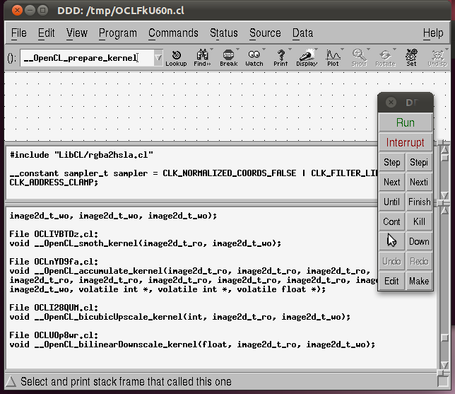 how to read java debugger info