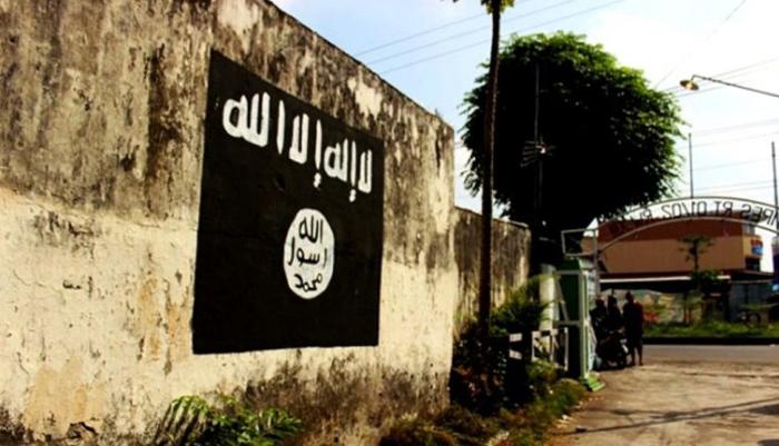 Mural ISIS di Indonesia