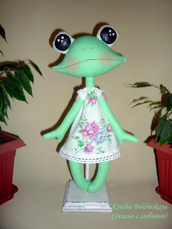 Лягушка своими руками кукла