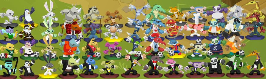 Animal Jam Rapids ~by Trickertreee: Golden Wings and fox toys