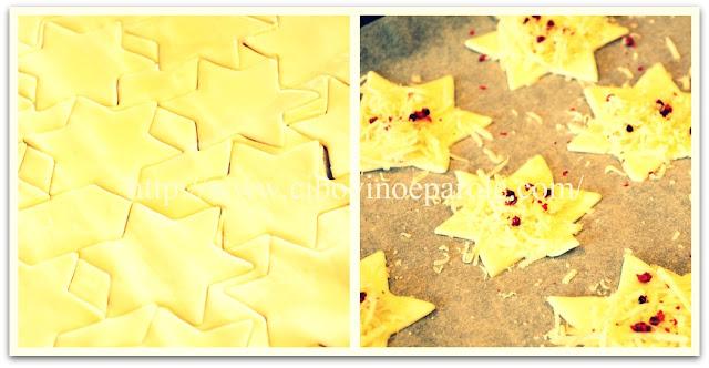 Stelle di pasta sfoglia -ricetta
