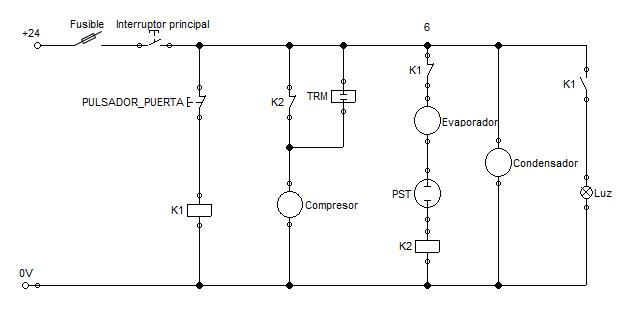 Circuito Basico De Refrigeracion : Laboratorio de refrigeración y aire acondicionado