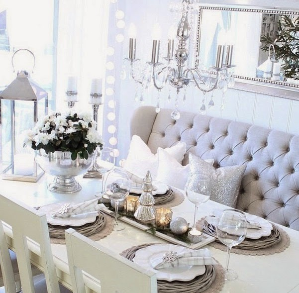 How do you jazz up your dining table and which featured table top decor  idea(