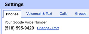 Number Porting for Google Voice debuts