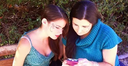 monika sanchez y maran robru maquillaje de envidia