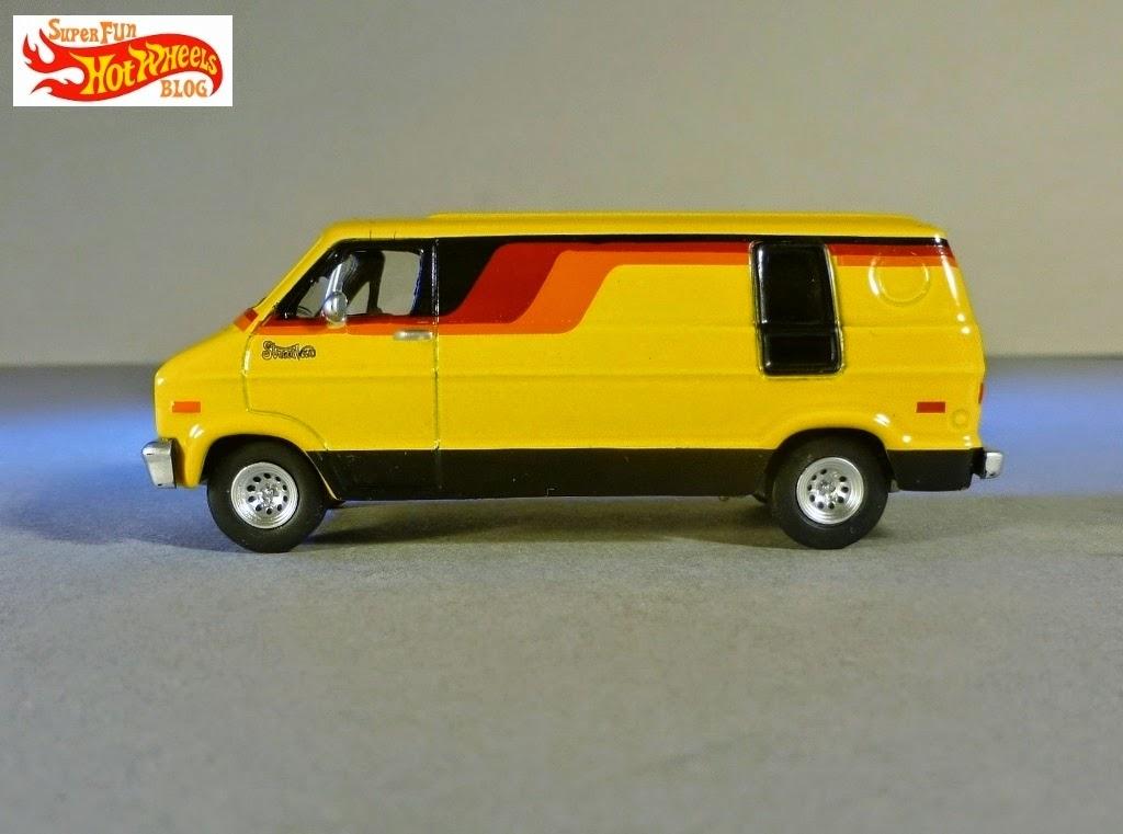 Super Fun Hot Wheels Blog Greenlight Country Roads 1976 Dodge B 100 Street Van