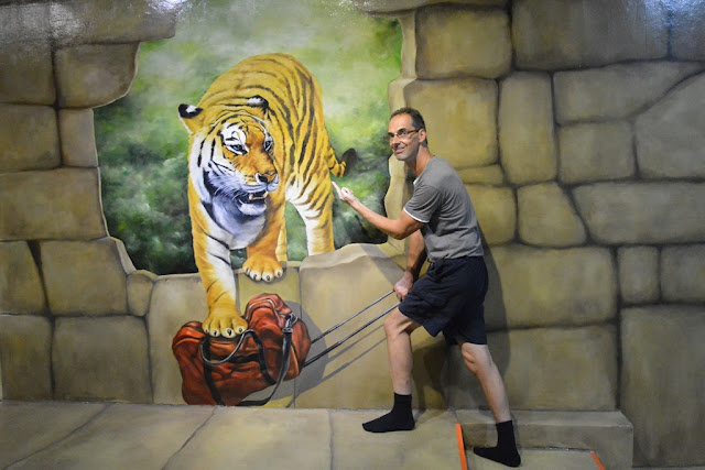 Trick Eye Museum tiger