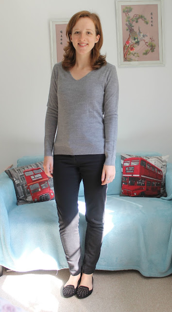 Primark Autumn Winter Haul Grey V Neck Jumper 2015